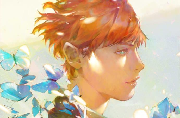 Lelush(⁎⁍̴̛ᴗ⁍̴̛⁎) Illust of 森森慵懶 June2021_Anthropomorphism summer 愛 畫畫 eyes watercolor impasto 數字 粉絲 color