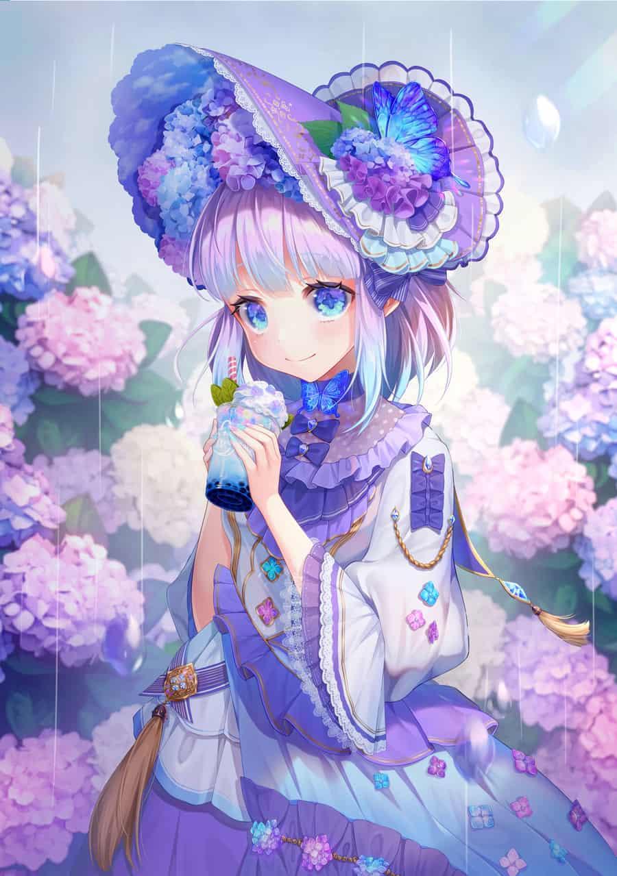 紫陽花の君 Illust of 砂利 ARTstreet_Ranking hydrangea