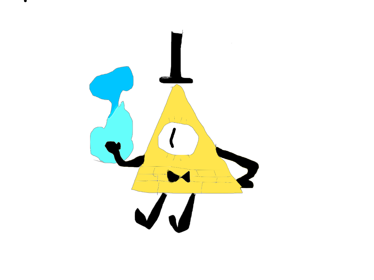 Never sketch with a mouse Illust of An average Gravity Falls fan medibangpaint