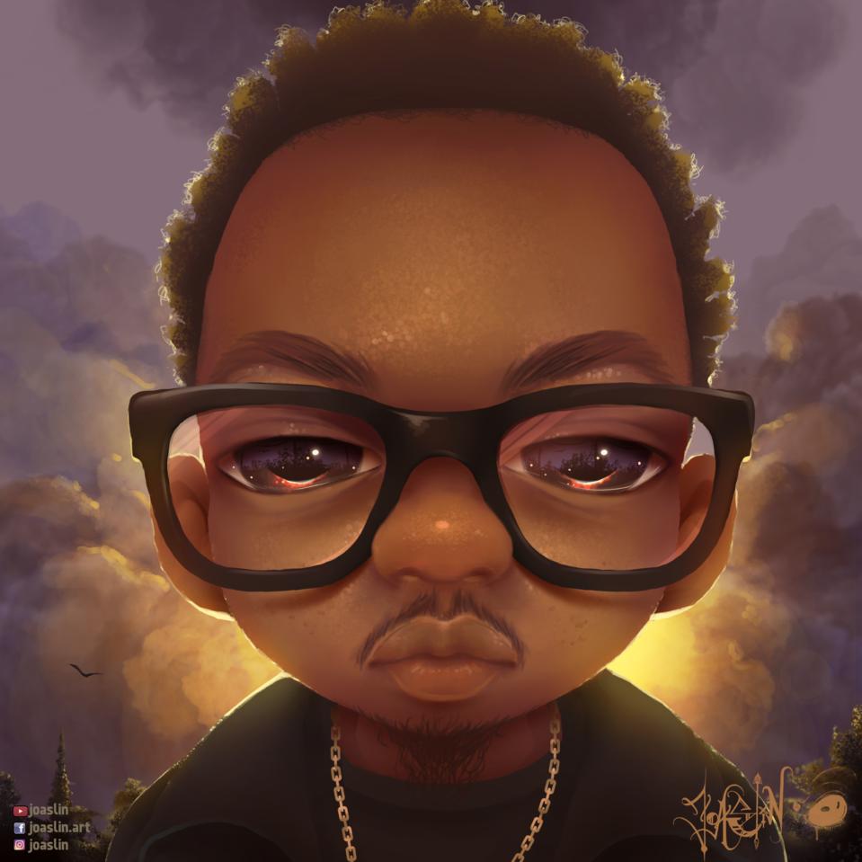 Gloomy 🤓 Illust of JoAsLiN ARTstreet_Ranking art Gloomy glasses eyes digital original illustration sunset oc cute