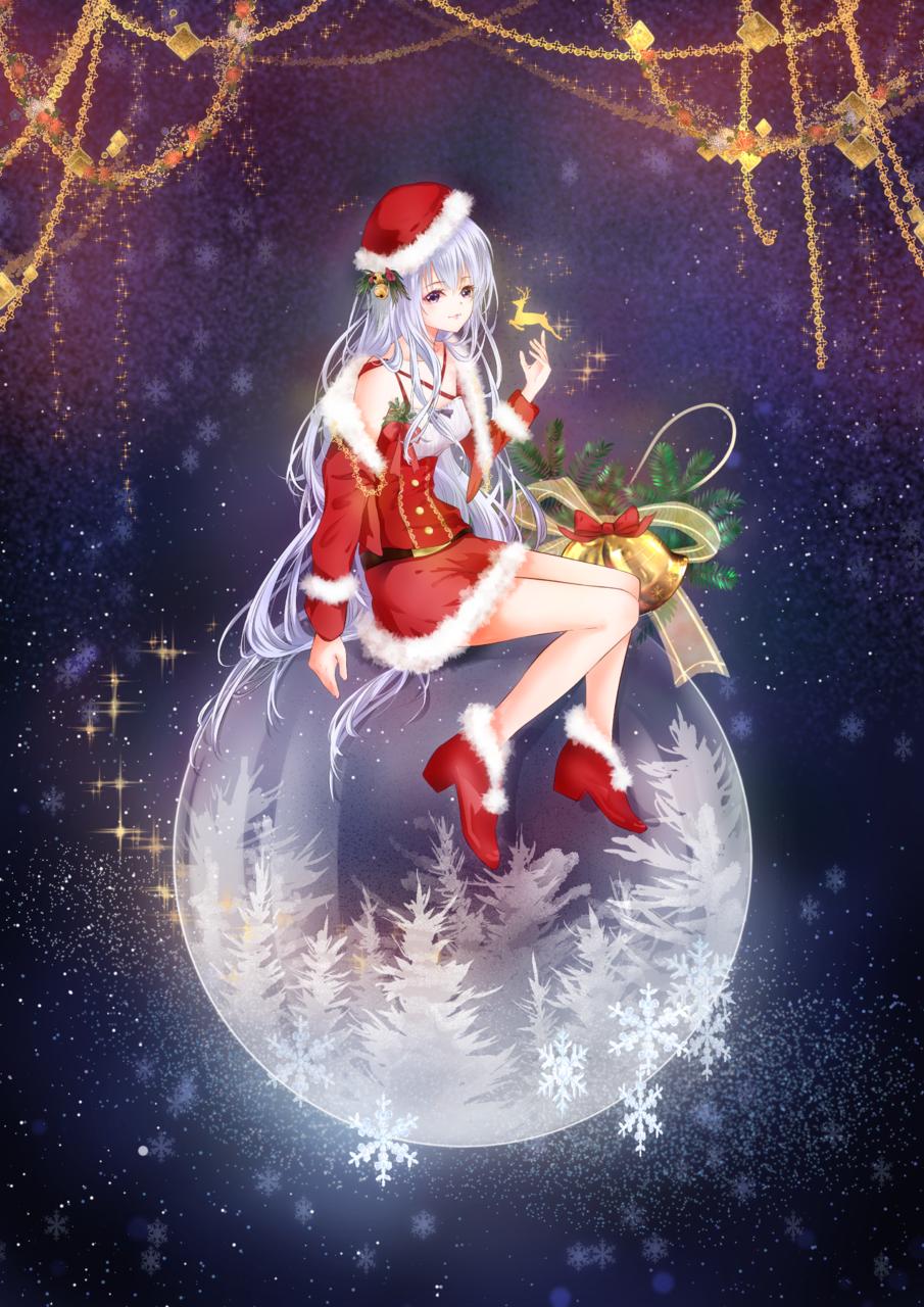 聖誕 Illust of 醉臥 dec.2019Contest