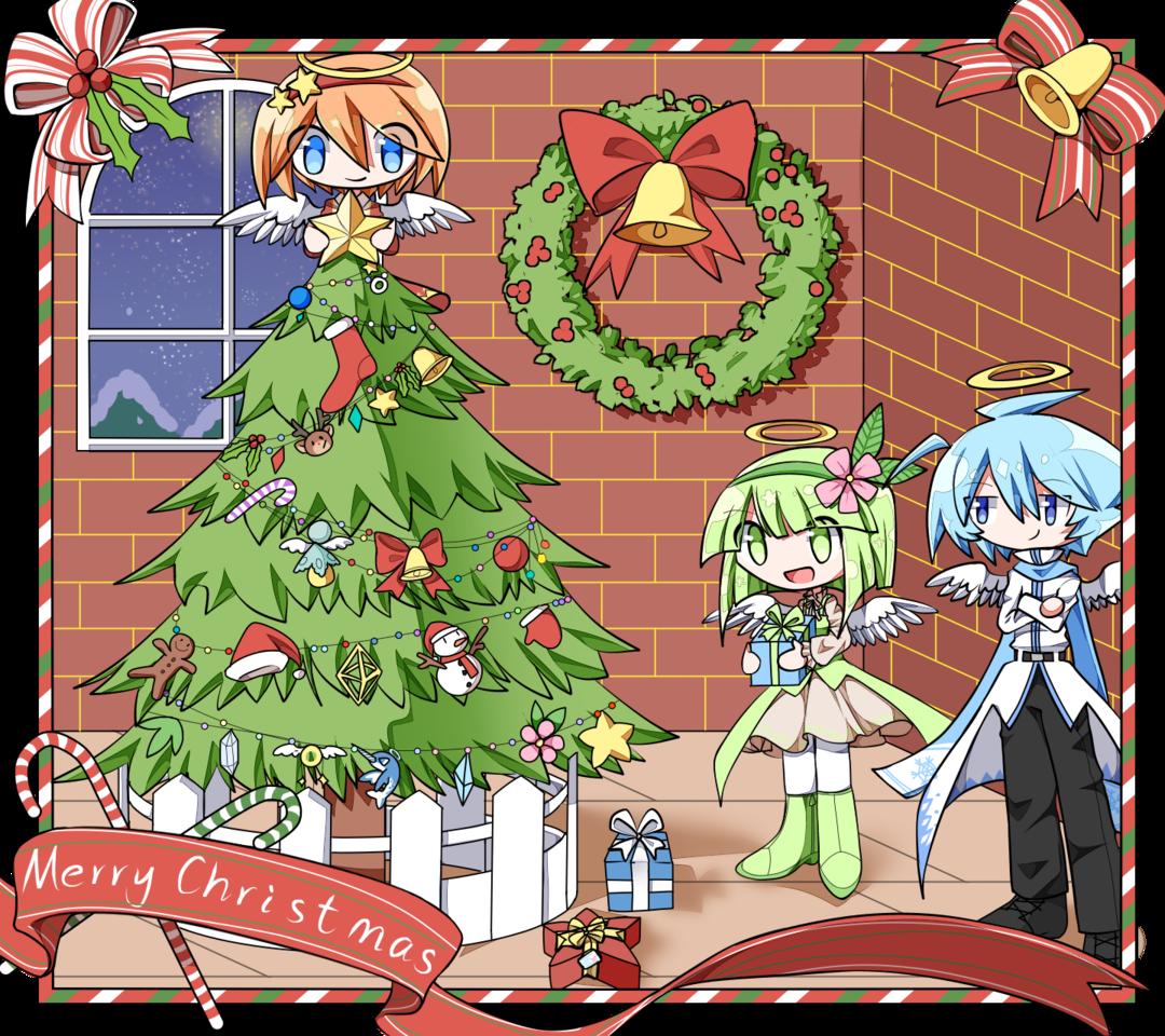 ☆「Merry Christmas」☆ Illust of nekoneko222 dec.2019Contest original NKNK'sOCs oc