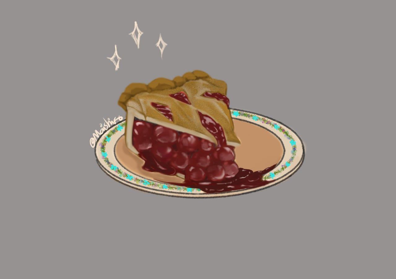 Berry cake  Illust of maishiro