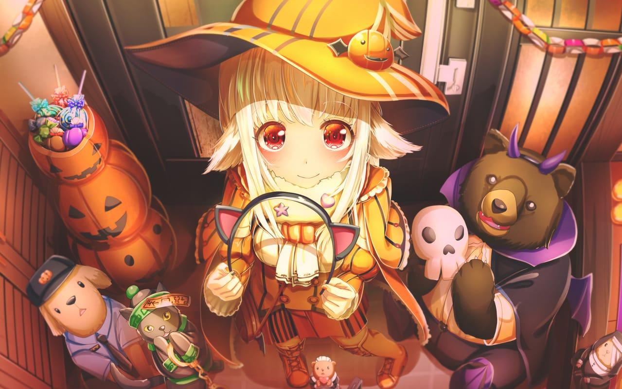 町へ繰り出そう! Illust of あいうあぼ 獣耳 girl original コスプレ Halloween