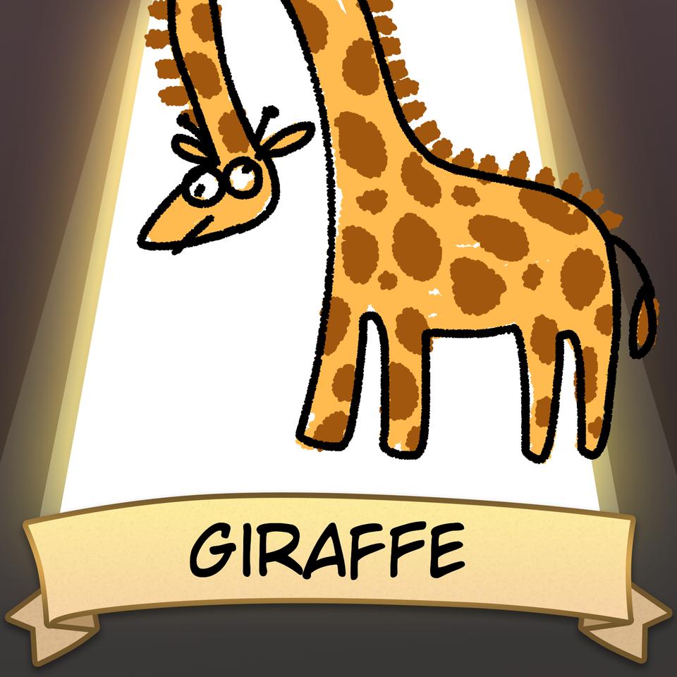 Giraffe Illust of thehobosapien SoBadItsGood Giraffe