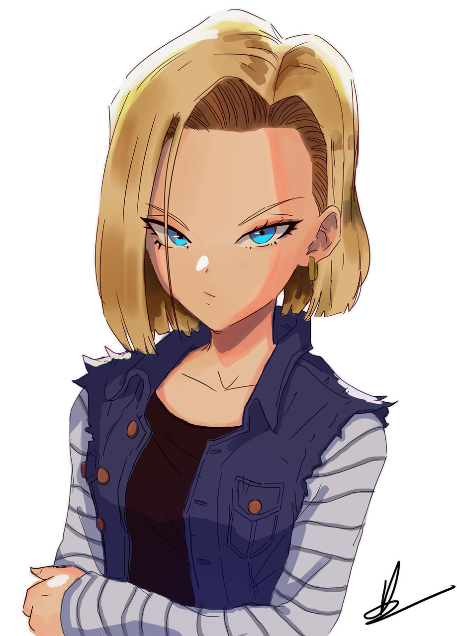 Android 18 sketch
