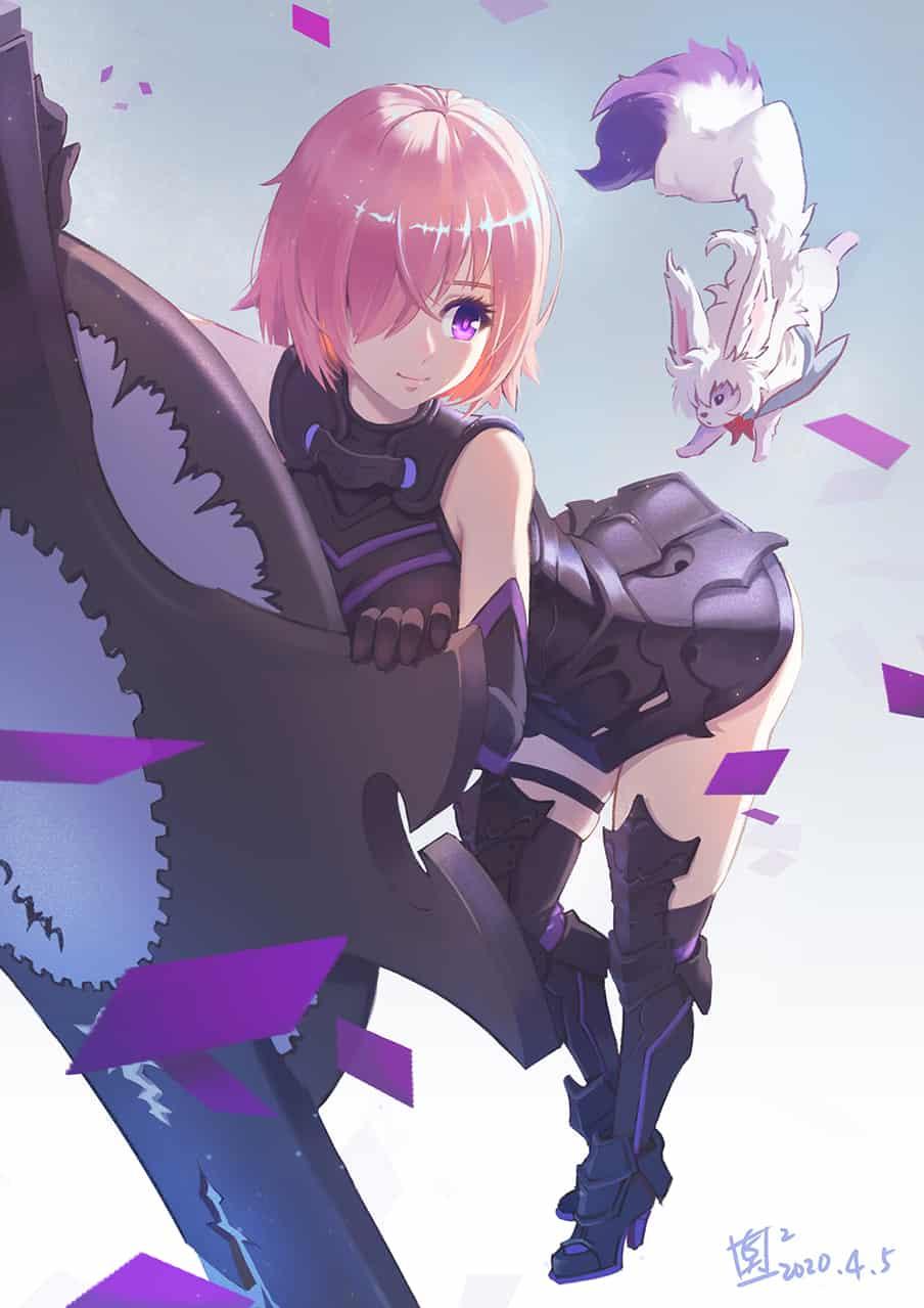 fate 瑪修 Illust of 高點點 MashKyrielight Fate Fate/GrandOrder