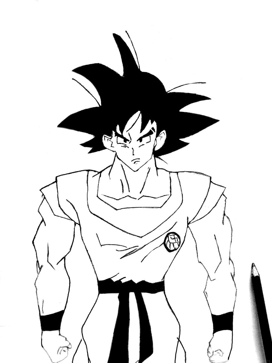Goku :) Illust of Sinchan96 witch art eyes digital manga anime illustration galaxy medibangpaint original