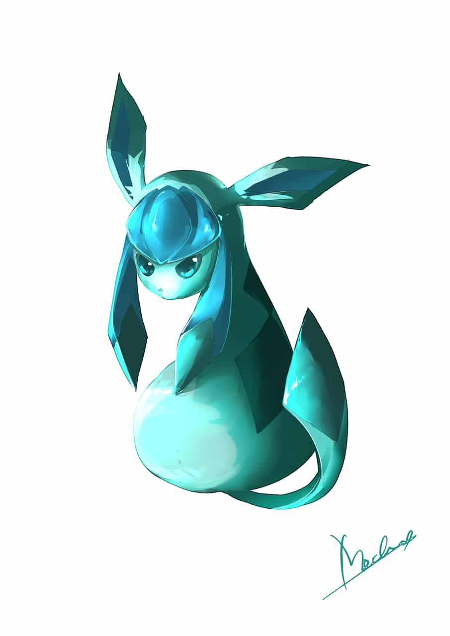 グレイシア Illust of Mochicyann digital painting pokemon drawing グレイシア
