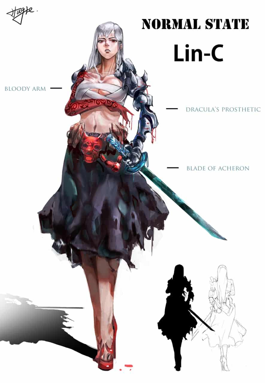 character design-Lin c
