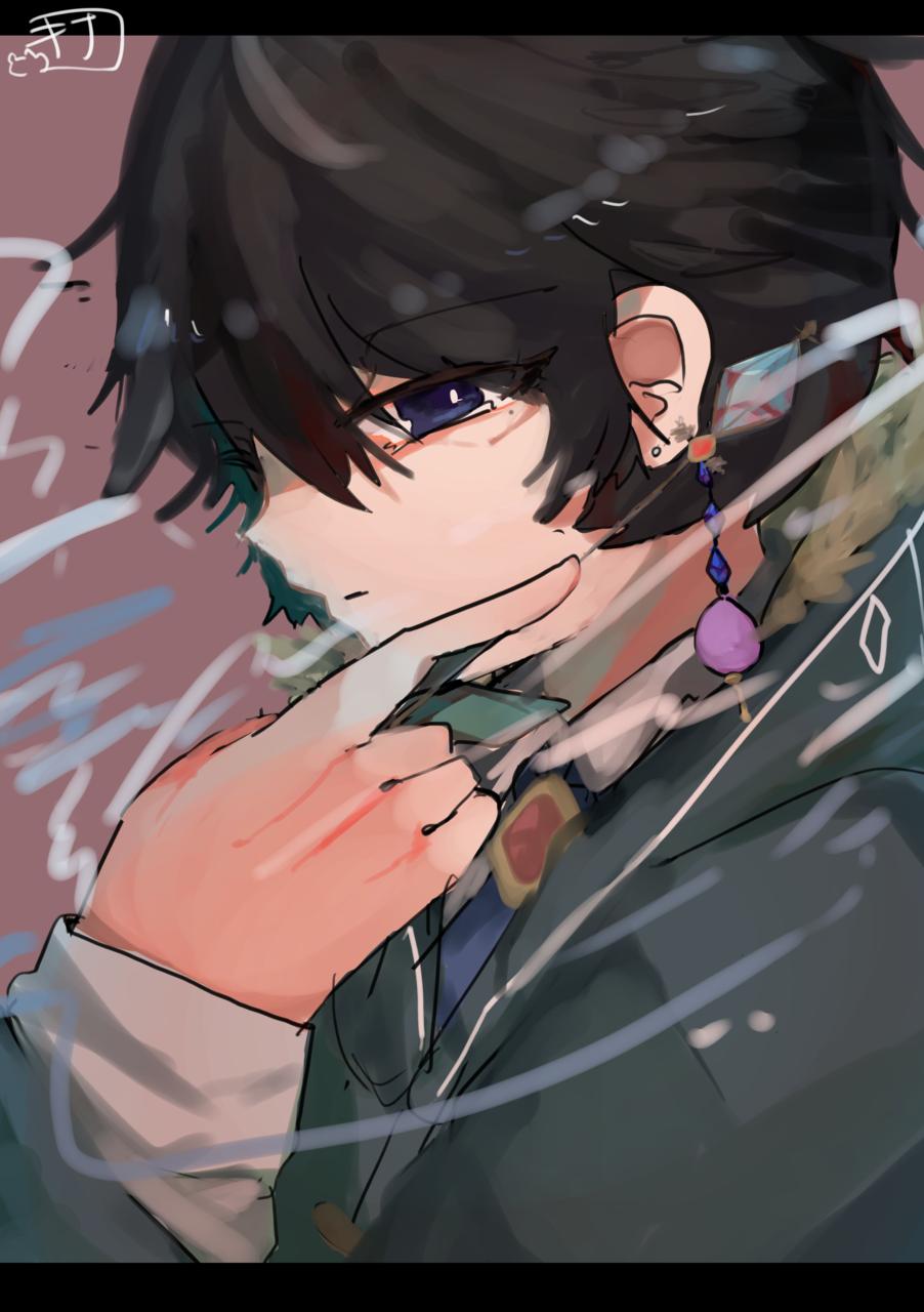 蒼の魔導士(名前募集) Illust of きなこ豆腐@お味噌汁崇拝 oc blue 魔法使い illustration もこもこ隊