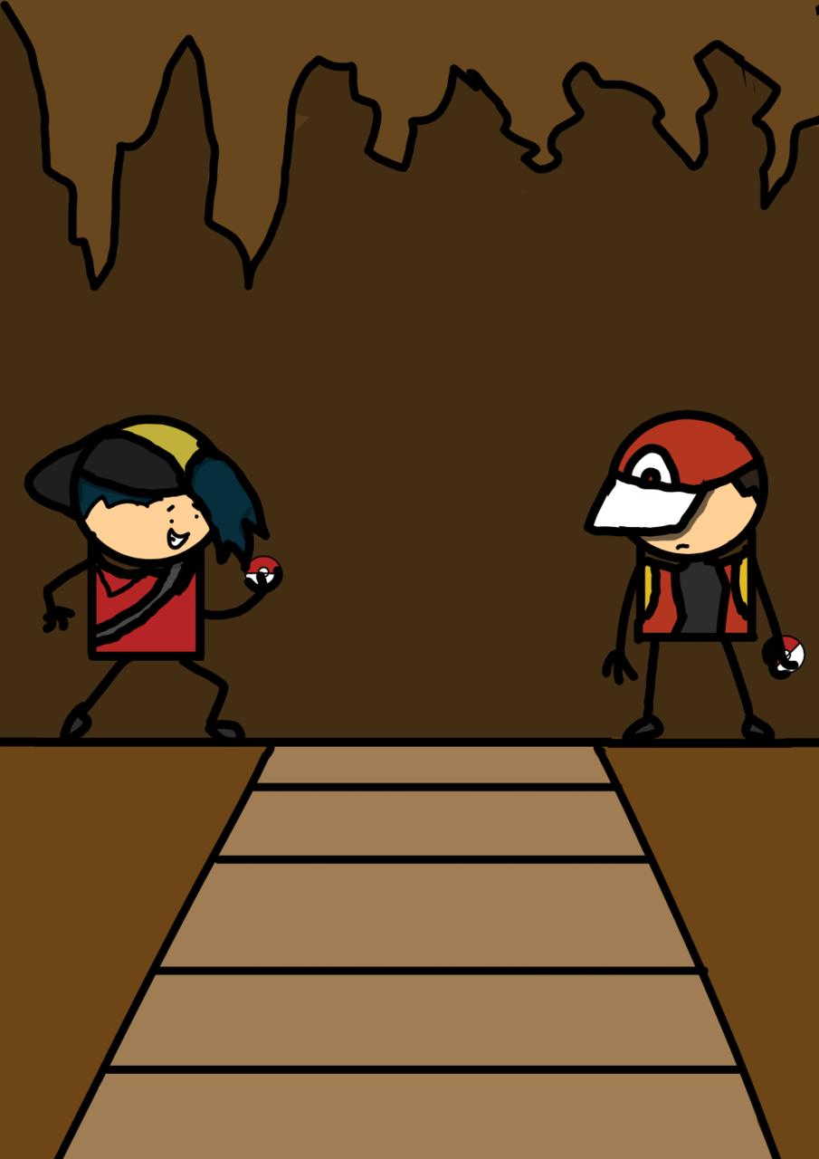 Red Vs Gold Art