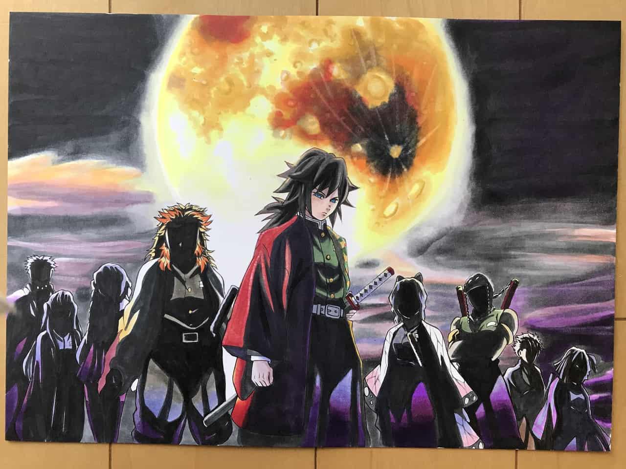 最強の柱 Illust of さをり DemonSlayerFanartContest contest fanart 柱 KimetsunoYaiba illustration TomiokaGiyuu