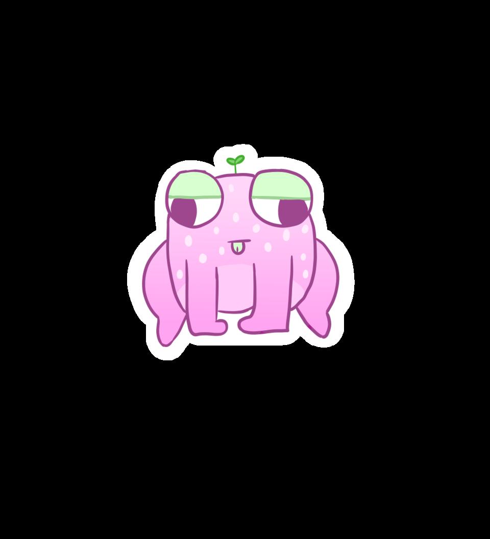 Strawberry Frog Illust of lune.frog phrog