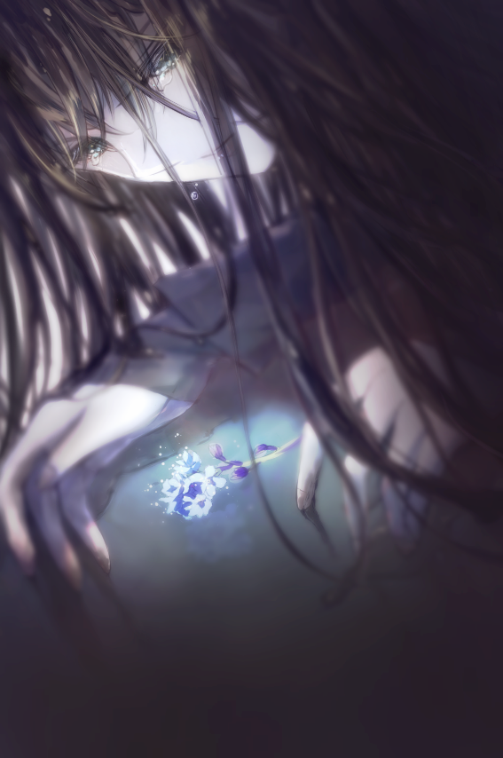 勿忘草の記憶 Illust of KiLEi oc illustration shonen original