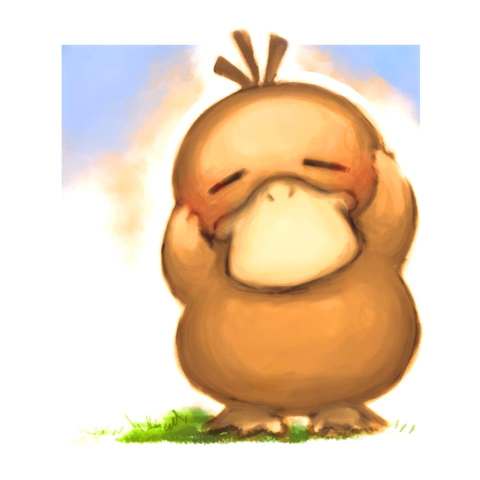 推しキャラ Illust of ささら レッツワンドロ コダック MediBangPaintPro pokemon
