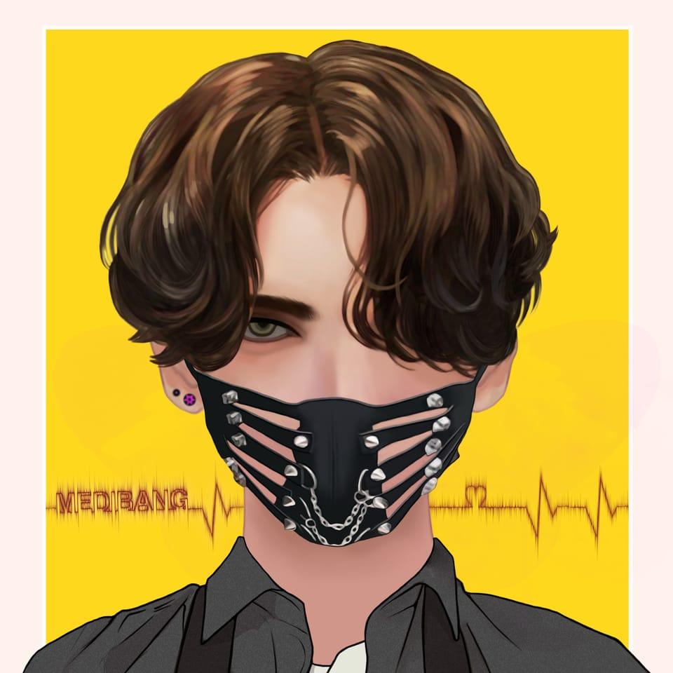 SNS Icon Campaign Illust of mahdieh IconCampaign medibang medibangpaint MyArt Artwork boy characterdesign