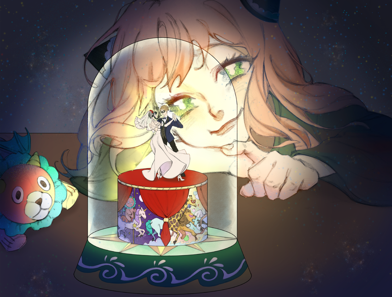アーニャ心の中の世界 Illust of Maomao SPY×FAMILY_Contest
