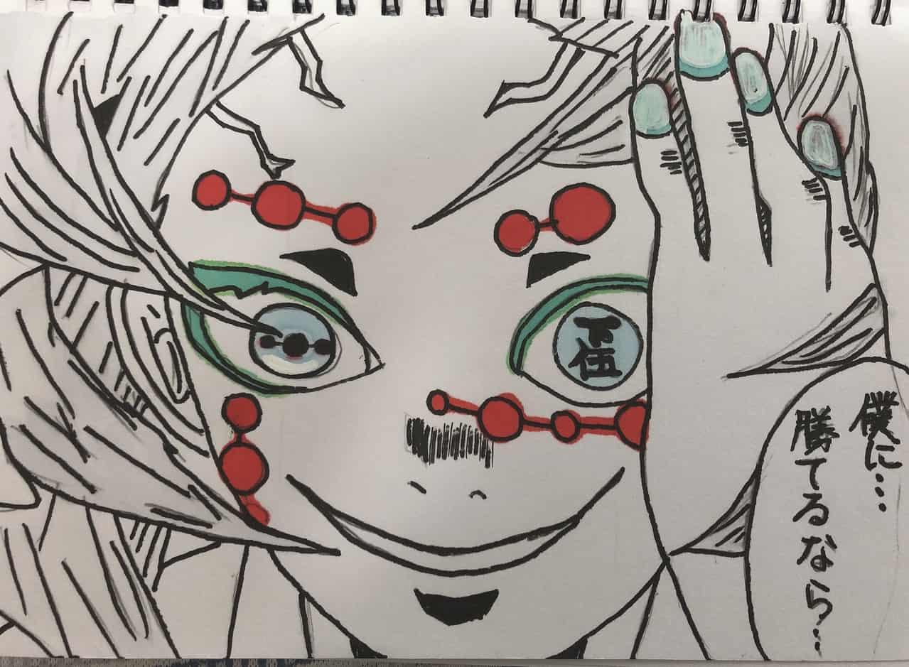 下伍 Illust of 霞 DemonSlayerFanartContest 累 KimetsunoYaiba