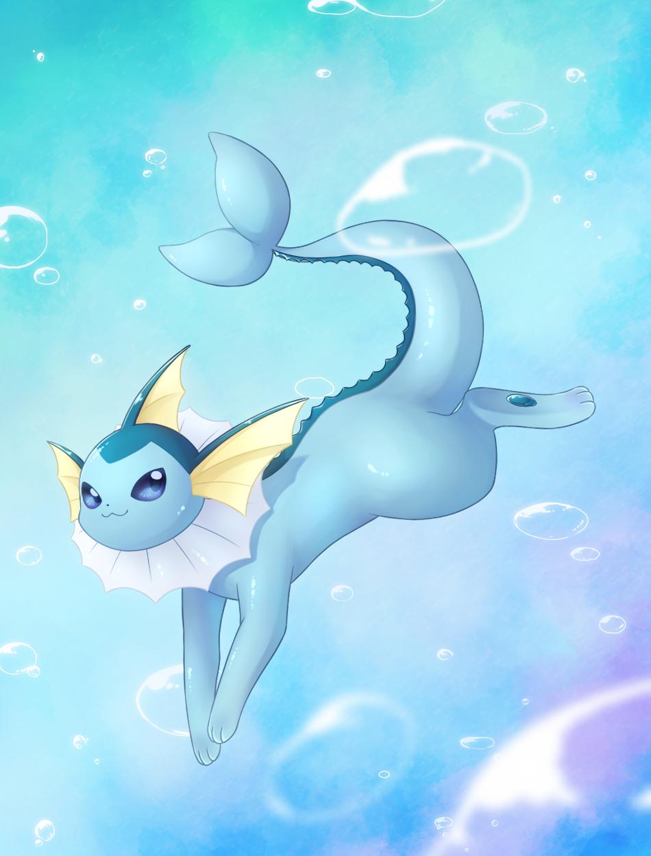 シャワーズ Illust of キノ medibangpaint pokemon