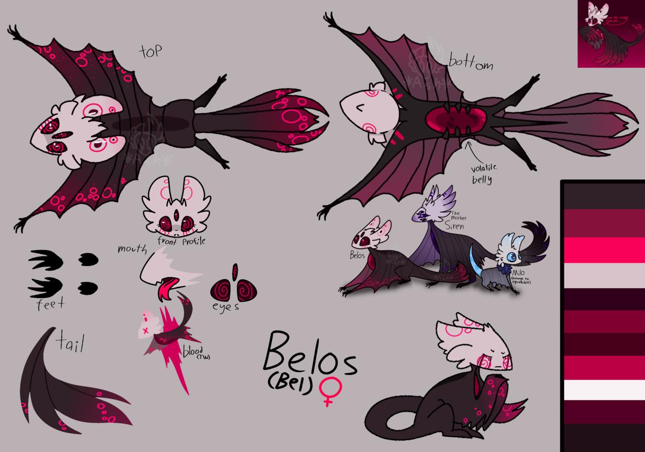 fixed up her ref  Illust of 🍂αѕн🍂 medibangpaint Knight Hollow_Knight ref oc belfly Hollow