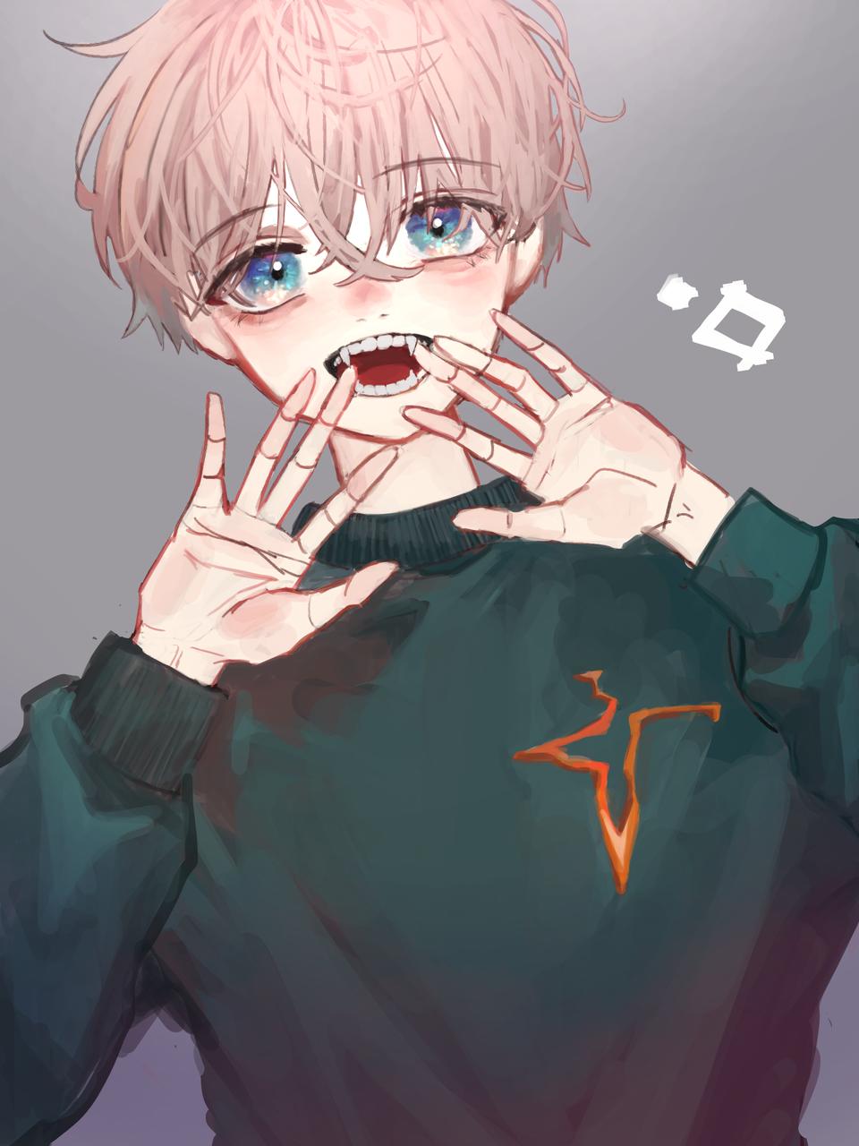 無題 Illust of おが original boy