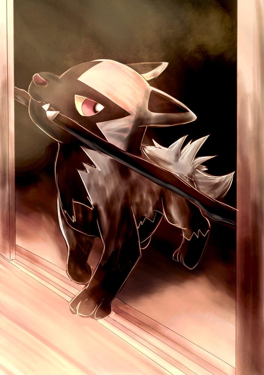 ポチエナ Illust of 88里 pokemon ポチエナ