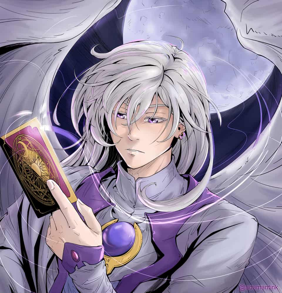 Yue - Card captor Sakura Illust of Adamantink SakuraKinomoto sakura 月城雪兎 ユエ CardcaptorSakura YukitoTsukishiro Yue