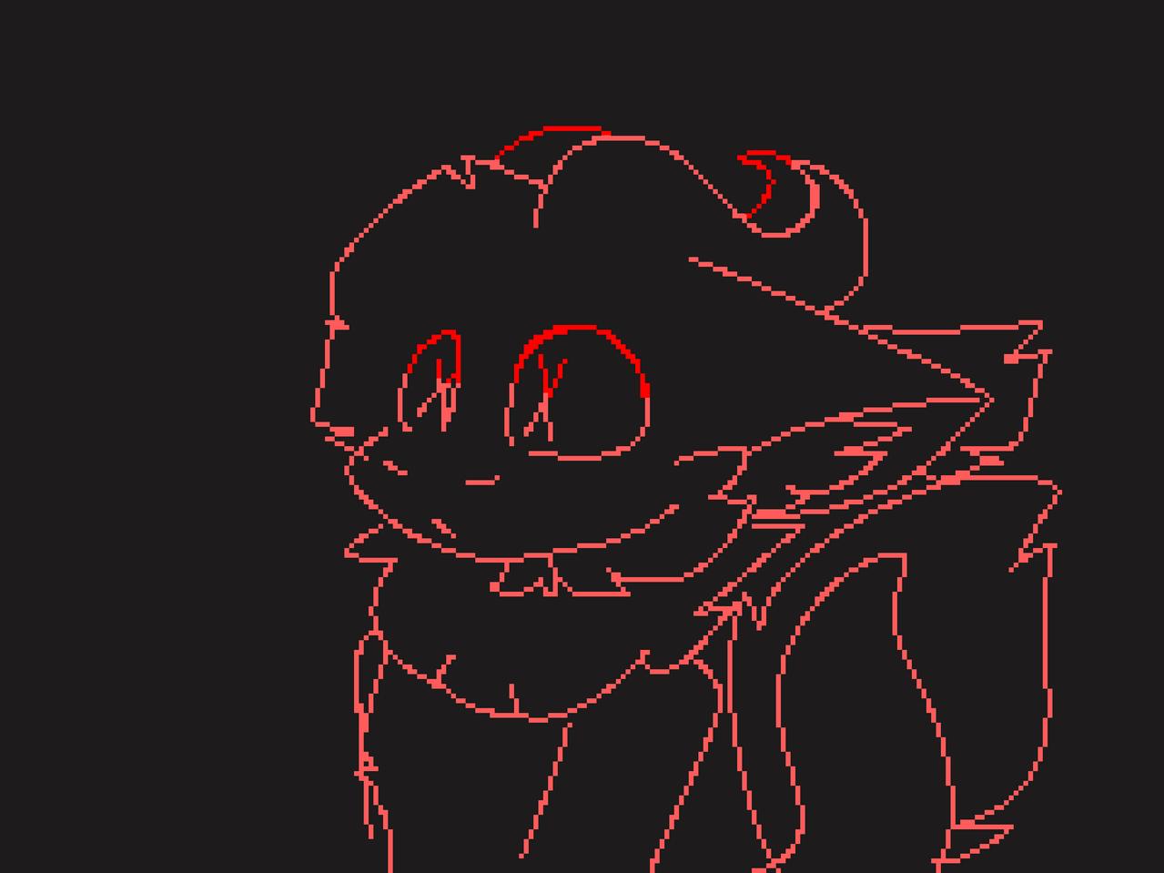 . Illust of ✨GhostTheBeast✨ medibangpaint red vent