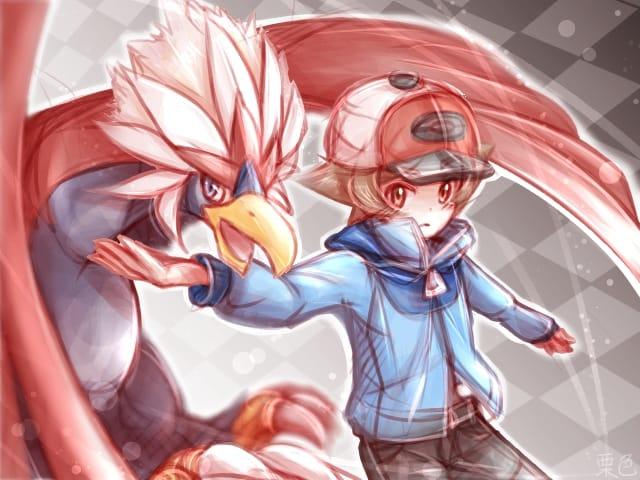 トウヤ君 Illust of 栗色 fanart pokemon