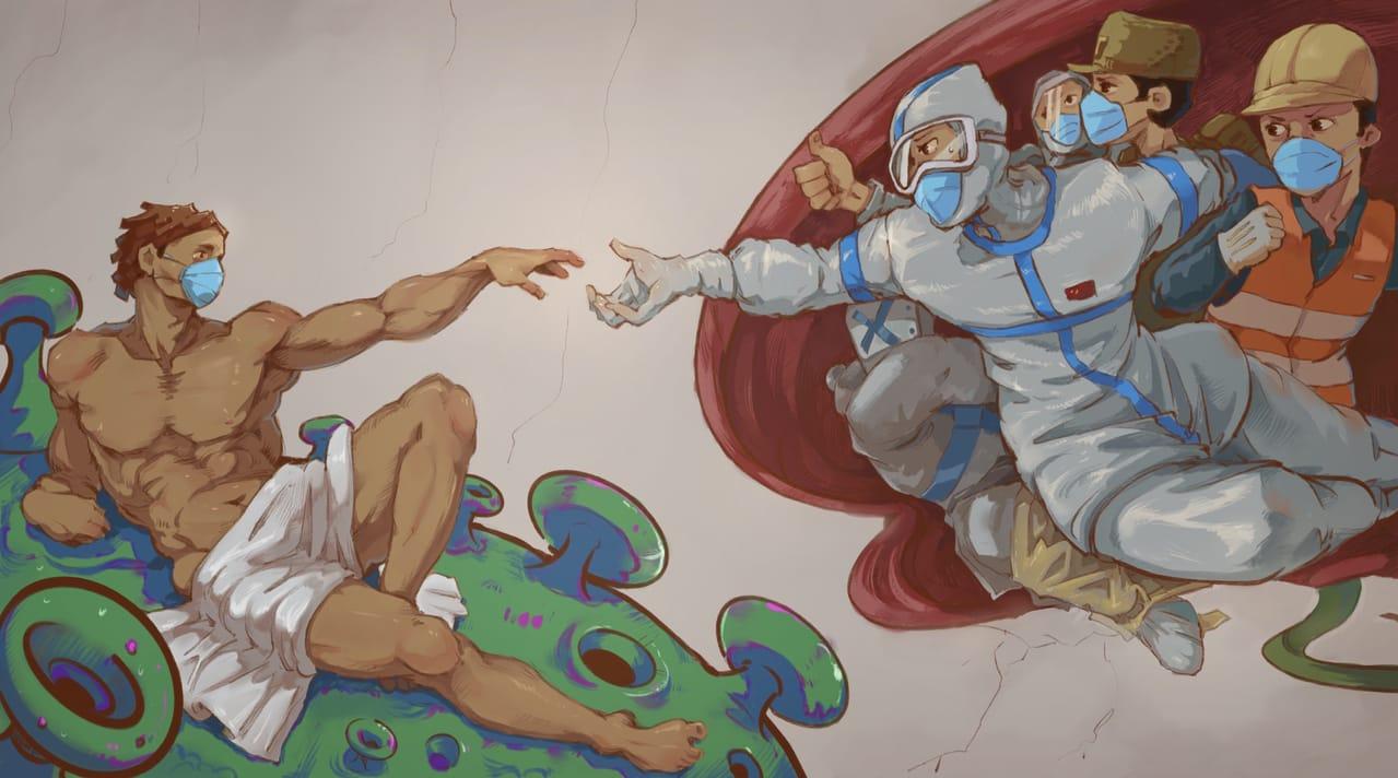 touch Illust of aliannng MasterpieceFanart 名画