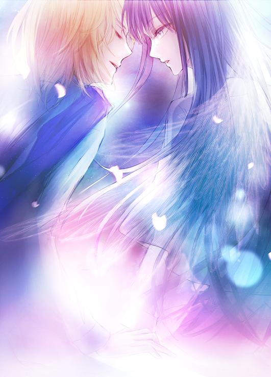 君に恋して Illust of Lishca BL boy 表紙絵 illustration