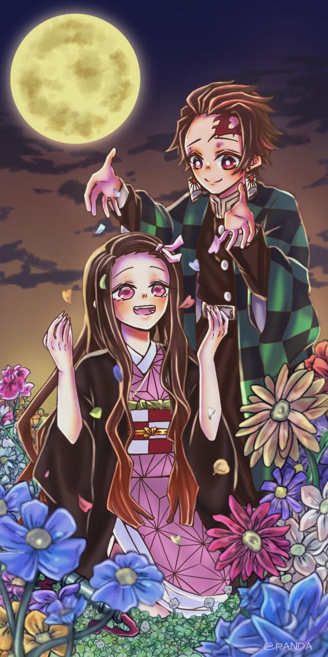 幸せ Illust of ぱん打!!! DemonSlayerFanartContest KamadoTanjirou KimetsunoYaiba KamadoNezuko 鬼滅の刃イラストコンテスト