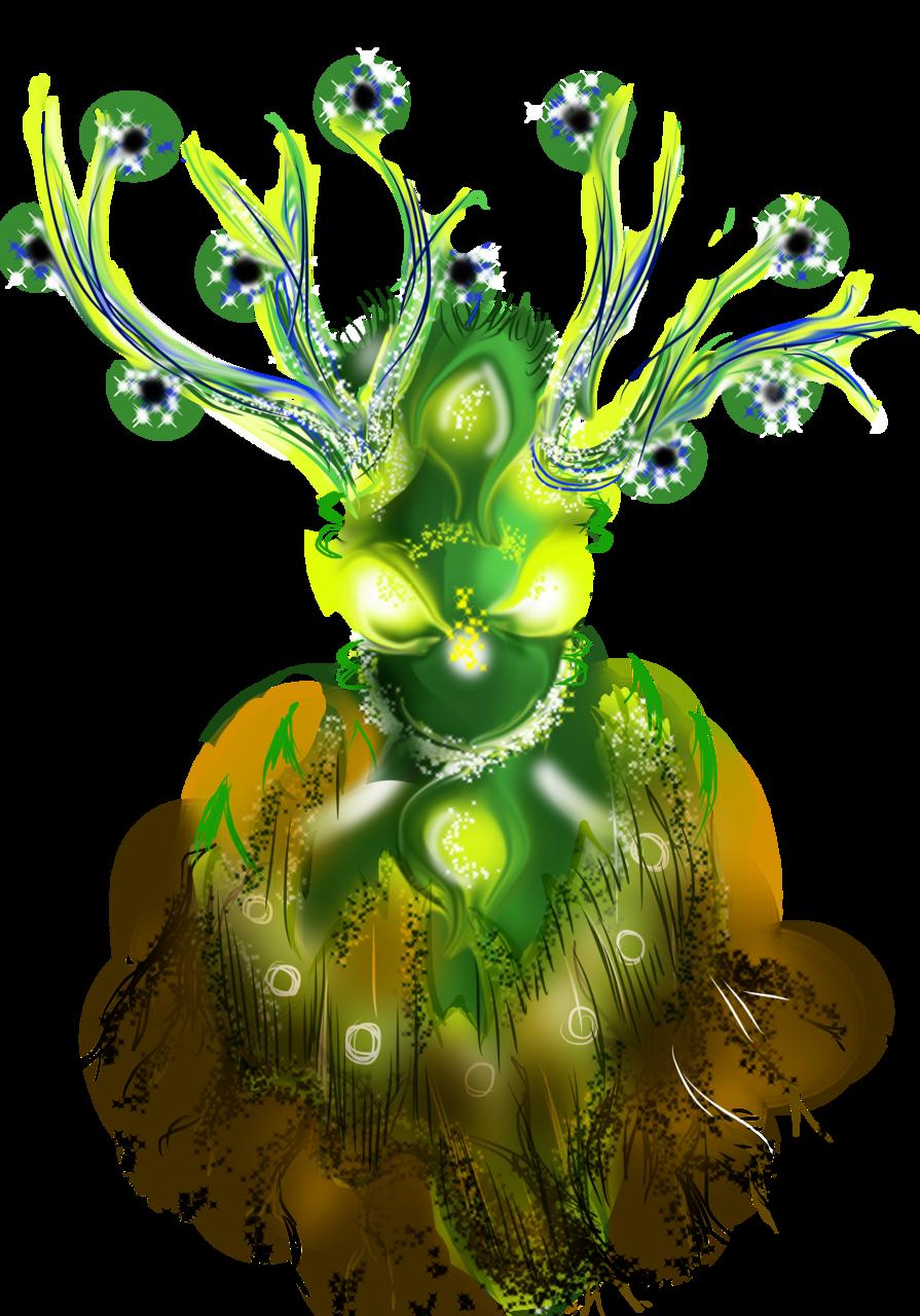 magical root Illust of AcP February2021_Fantasy