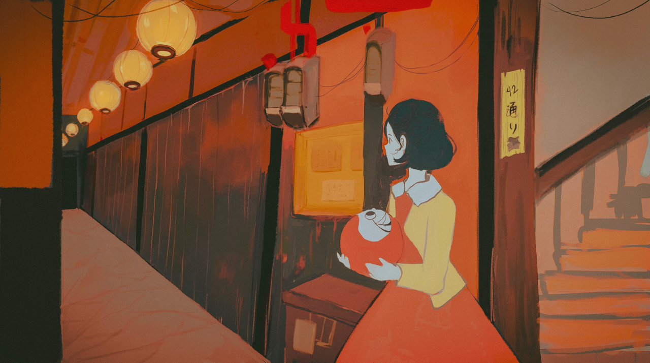 The night is short, walk on girl Illust of eowynd 政明 夜は短し歩けよ乙女 湯浅
