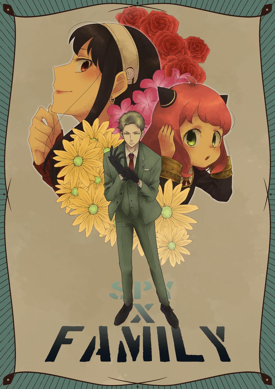 -SPY×FAMILY- Illust of 時坂銀太 SPY×FAMILY_Contest SPY×FAMILY