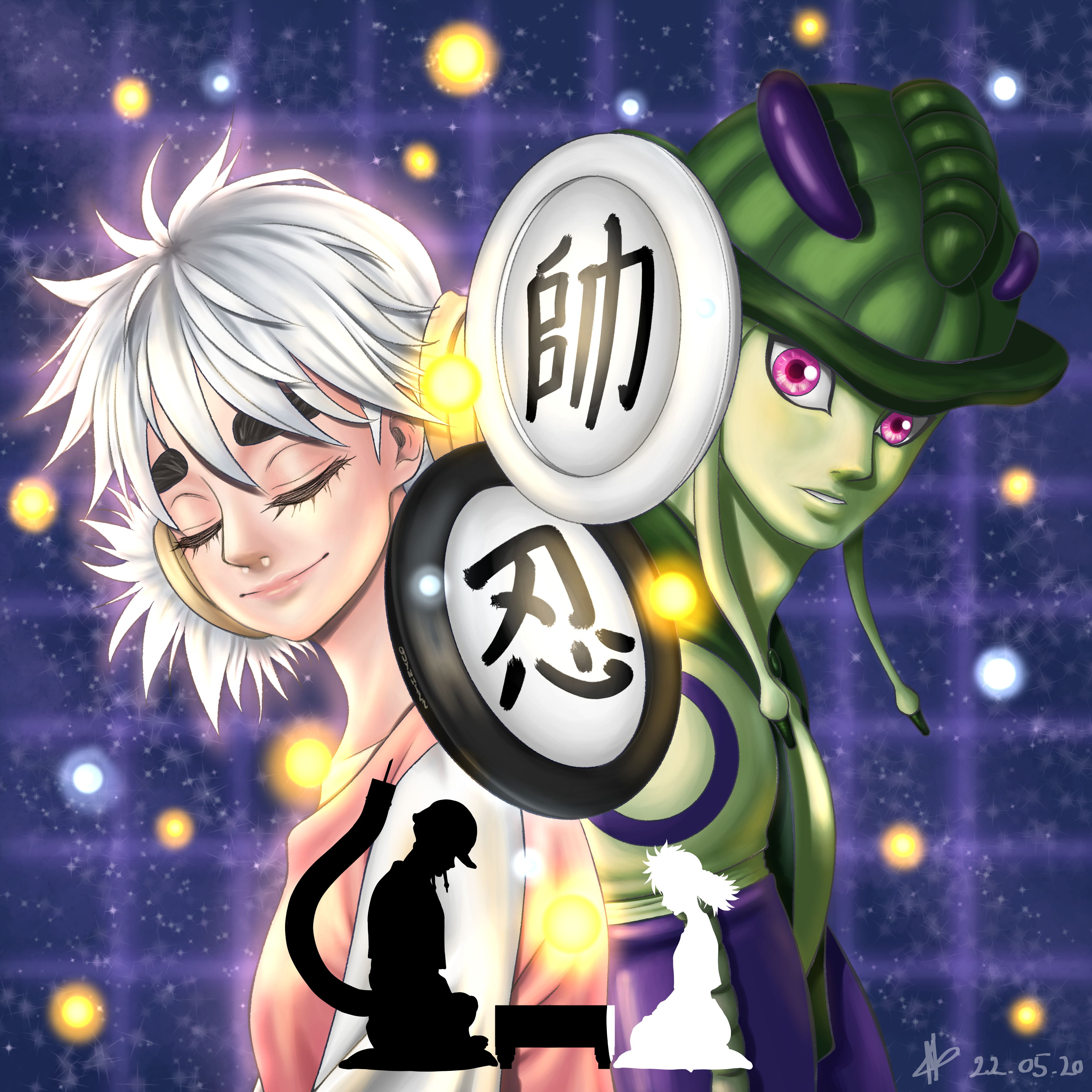 Hxh Marshal X And X Shinobi Quynhi22 Illustrations Art Street Check out inspiring examples of gungi artwork on deviantart, and get inspired by our community of talented artists. medibang