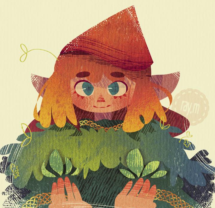 elf Illust of raym fantasy elf original