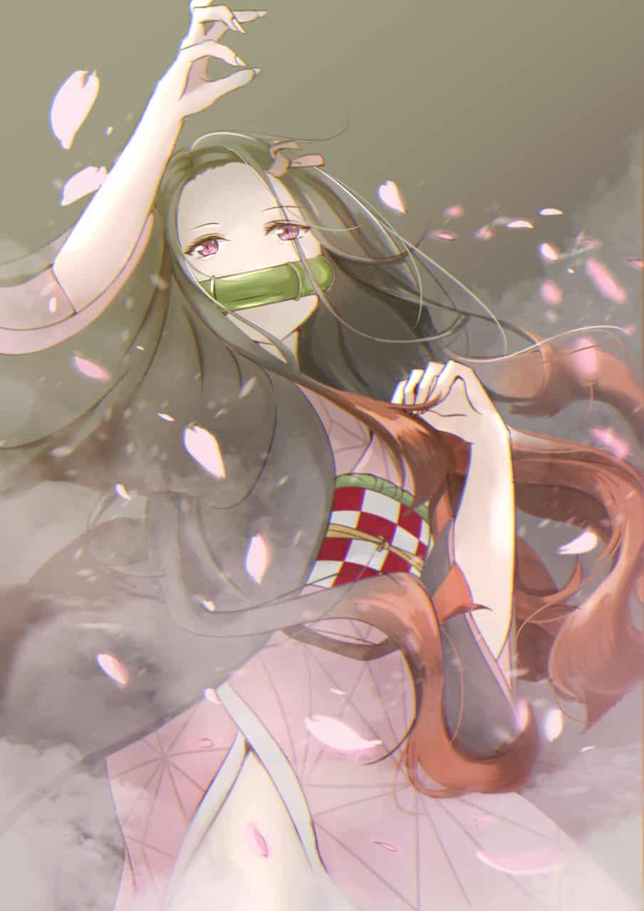 桜舞 Illust of Emma DemonSlayerFanartContest KimetsunoYaiba