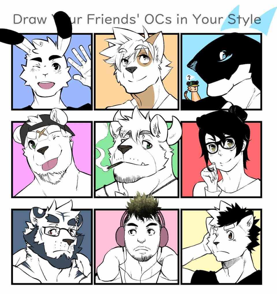 Draw Your Friends Ocs In Your Style Meme Pt1 Dannon