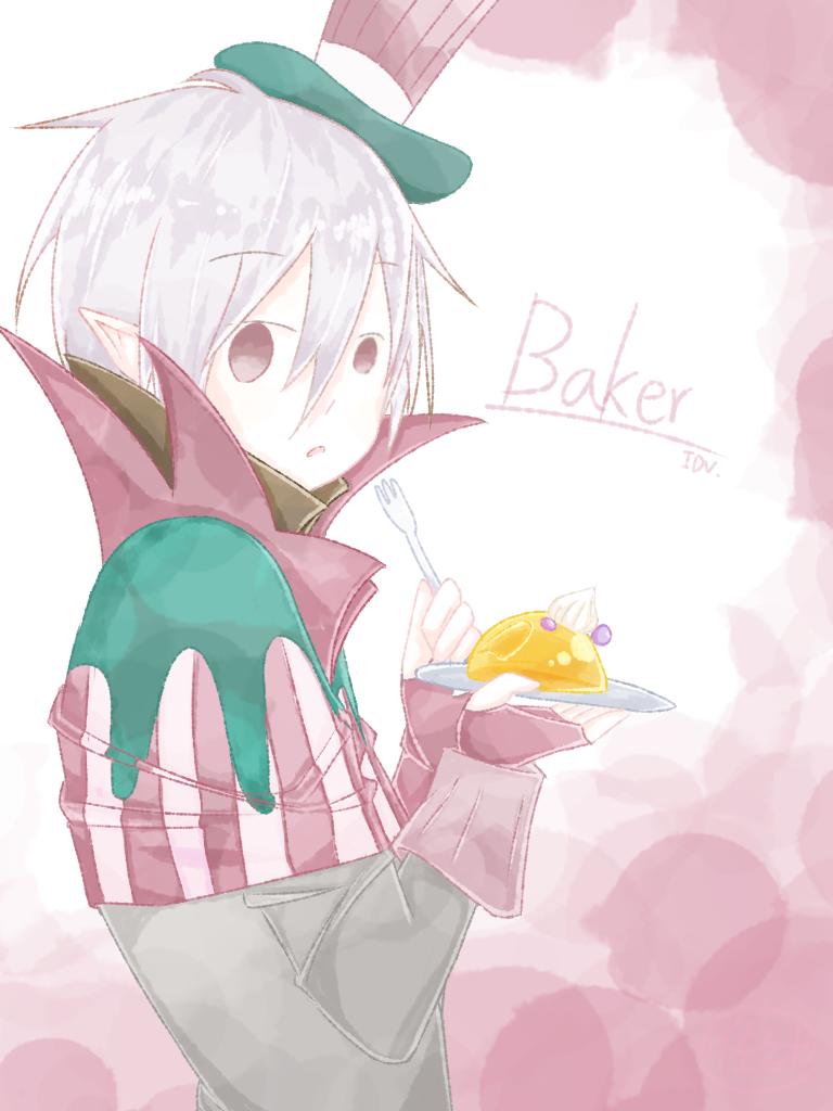Baker Illust of 佐佐木 杰克 第五人格杰克 IdentityV