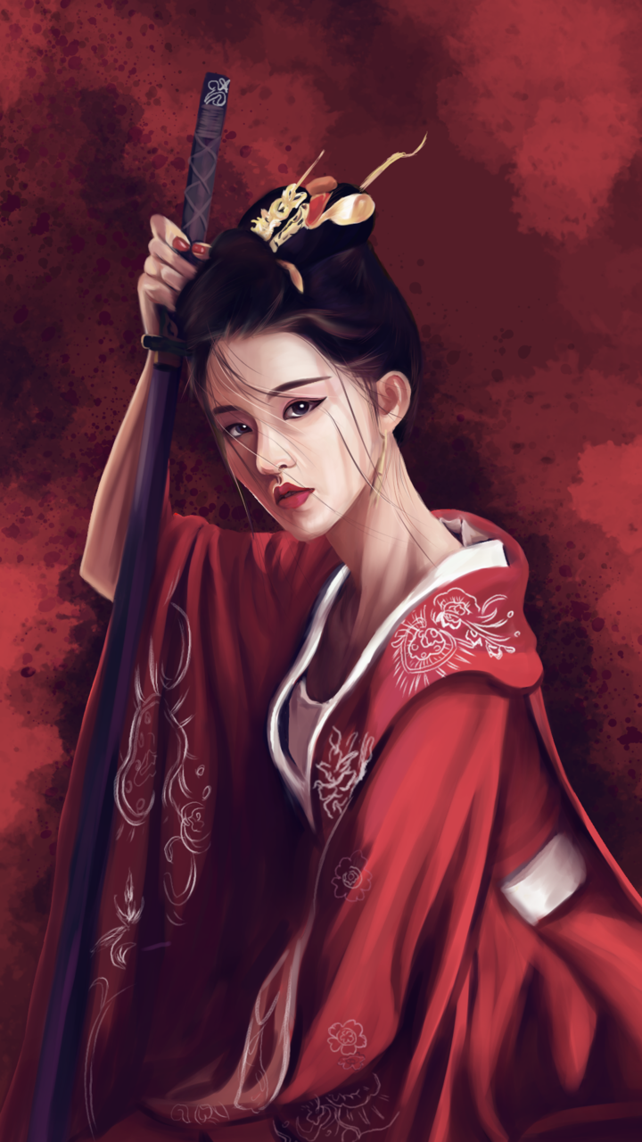 the last princess Illust of kelp kimono
