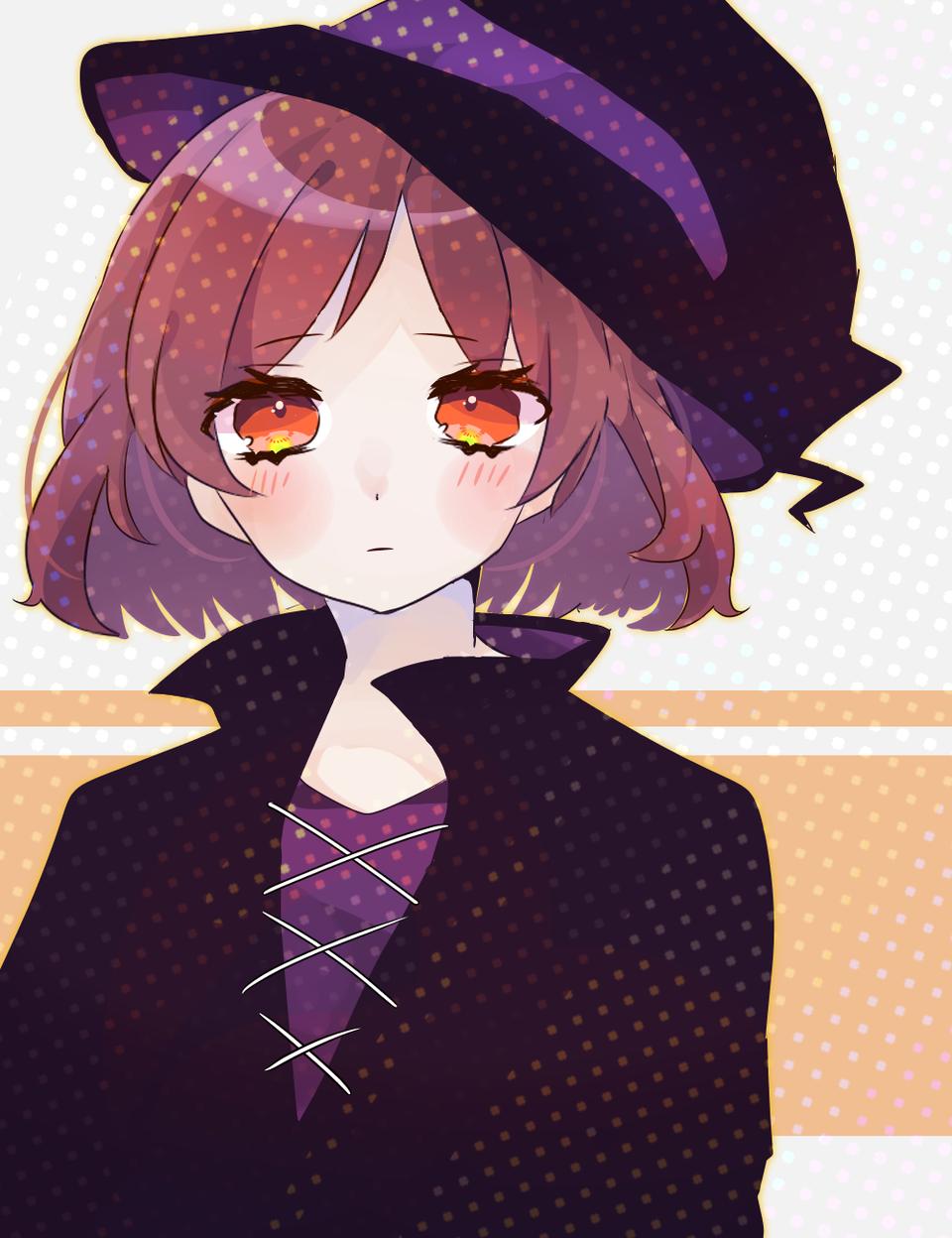 ハロウィンの女の子 Illust of えーた medibangpaint witch Halloween girl