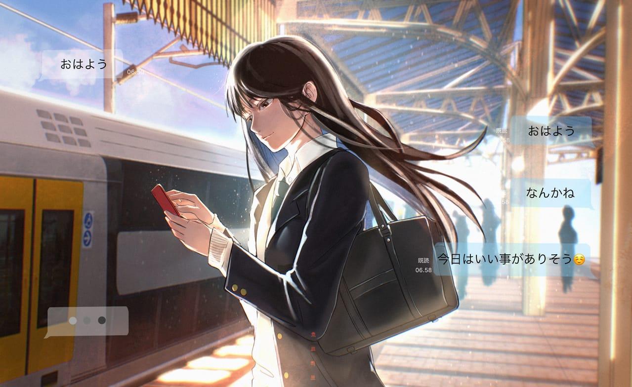 ハンナ Illust of horoharo MySecretSocietyContest oc girl horoharo ホーム original 2021