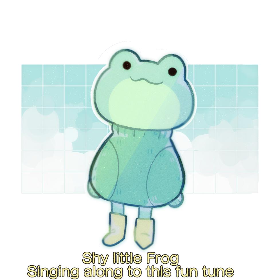 Shy little frog(read decs) Illust of ▼MilkyWayCorn▼ medibangpaint milkyway