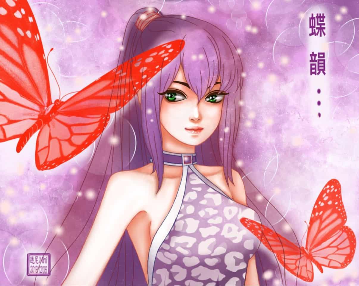 主動式電容筆畫之系列:2019/12/06隨意畫 Illust of cchenju(迷尼Mini)