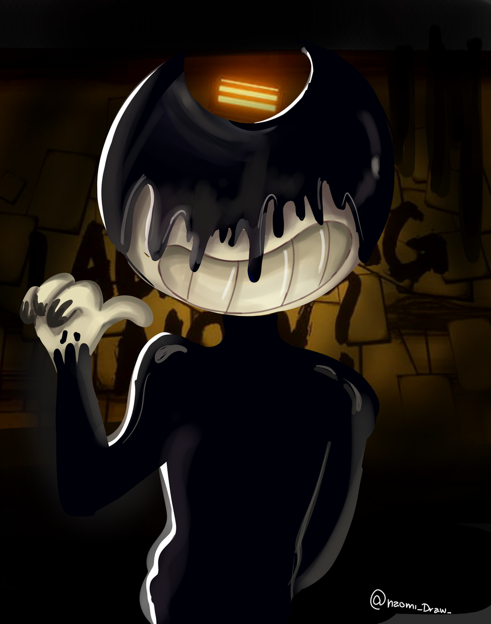 fanart (Bendy and the ink machine  Illust of ~Ñaiomi~ medibangpaint