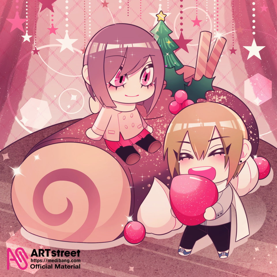Sweet Holiday Illust of Shin tracedrawing4th couple original Trace&Draw【Official】 oc