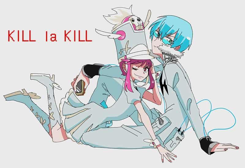 kill la kill Illust of pirosiki KILLlaKILL fanfic 犬牟田宝火 蛇崩乃音