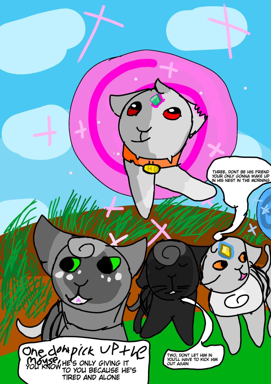 Time machine (All OC) Illust of Maple medibangpaint cat WarriorsTimeMachine grass warriorcats pink Lyricsongs TimeMachine Warriors